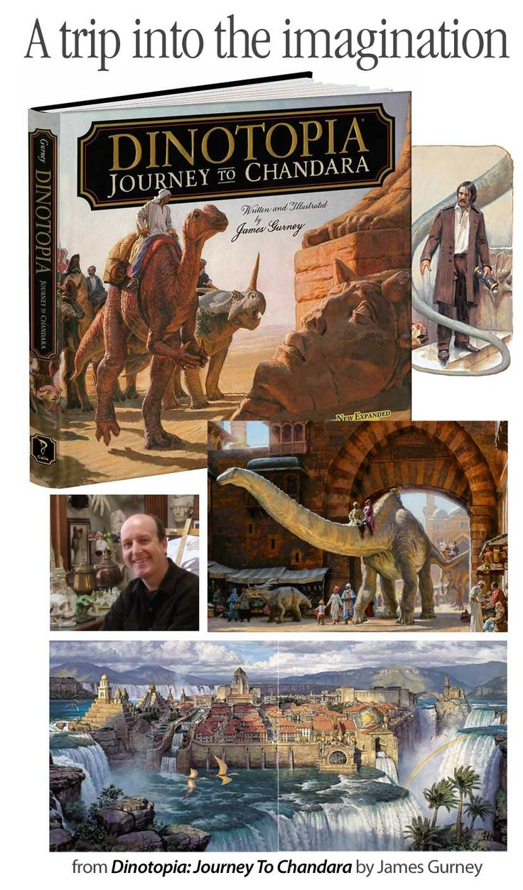 This is really one of the best of all times ... Dinotopia: Journey to Chandara ... #graphicnovel #painting #oilpainting #dinosaurs #dinotopia #design-bookshelf #graphic-design #DTG #DT&G