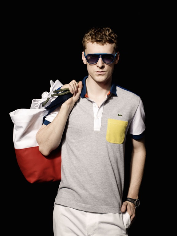 Lacoste presents the new collection for Unconventional Chic Men, featuring the Lacoste L638S Sunwear model.