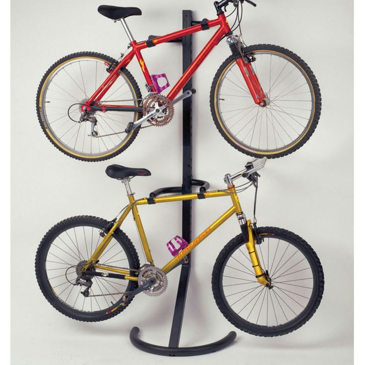 Racor Pro PLB-2R Two-Bike Gravity Freestanding Bike Stand - PLB-2R