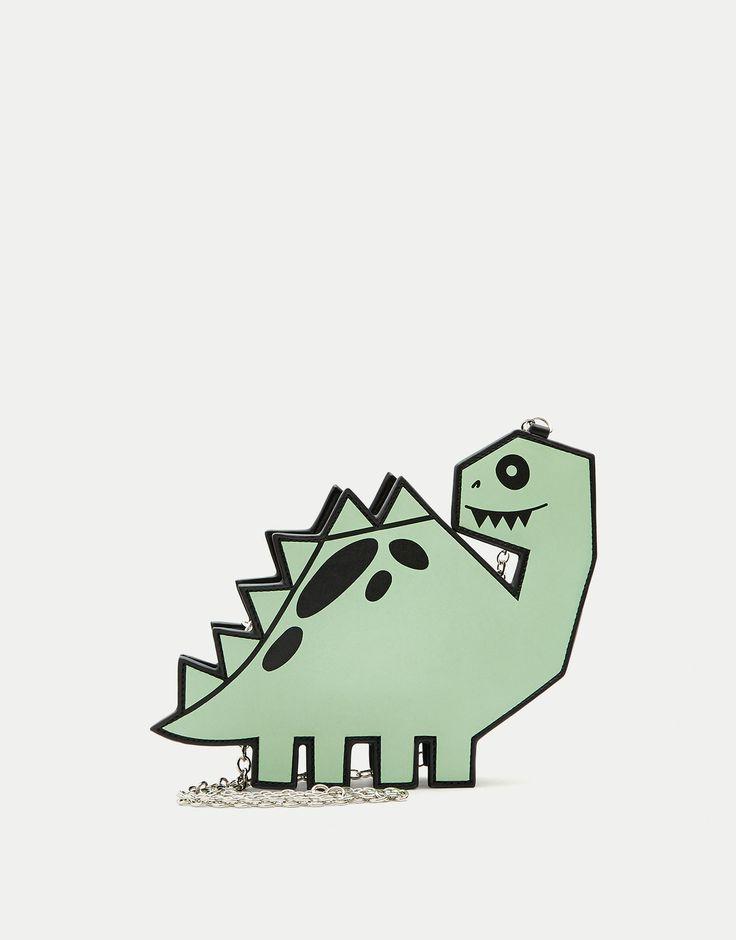 Mini-sac à bandoulière dinosaure - Dernières nouveautés - Accessoires - Femme - PULL&BEAR France