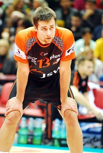 Michał Kubiak. Polish Volleyball Player.