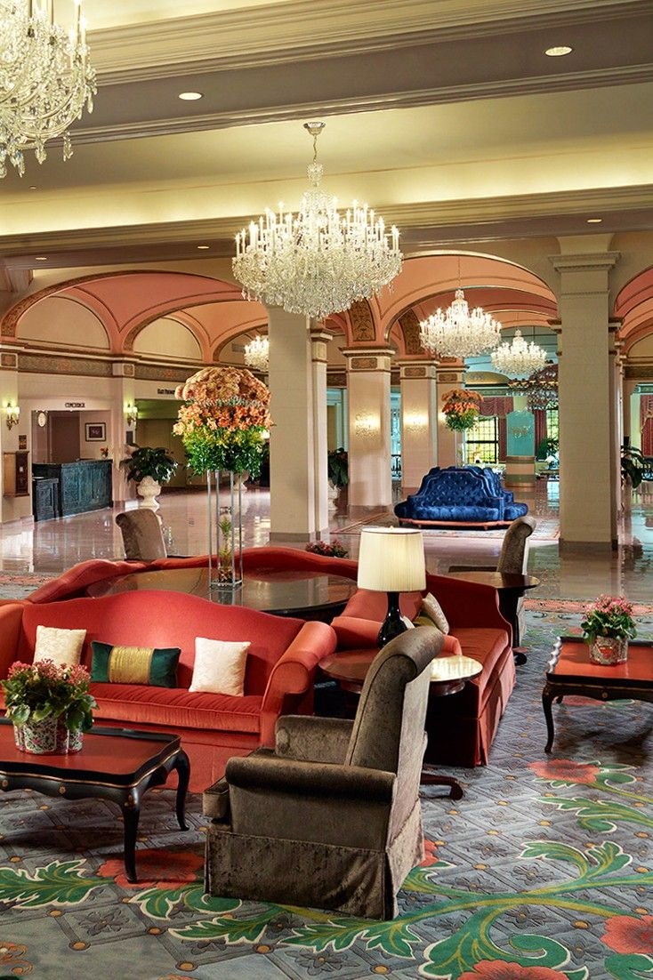 The 836-room hotel has stately decor, unrivaled conference facilities and a glam cocktail bar. #Jetsetter