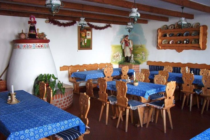 "The ""csárda"" is a Hungarian restaurant with a folkloric atmosphere"
