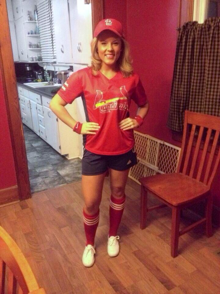 st louis cardinals baseball girl halloween costume - Baseball Halloween Costume For Girls