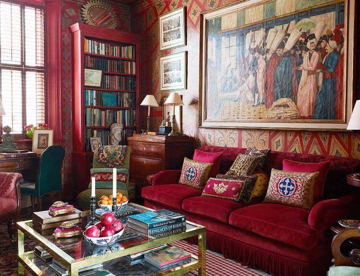 1229 best Exklusive Möbel images on Pinterest - wohnzimmer rot braun