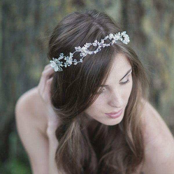 2015 s/s collection - Crystals & Pearls Headband | LavenderByJurgita