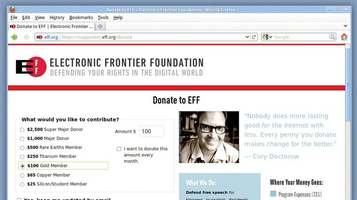 The guys that fight governments that spy on you | We investigate how the Electronic Frontier Foundation (EFF) protects us from the organisations that are out to steal your data. Buying advice from the leading technology site