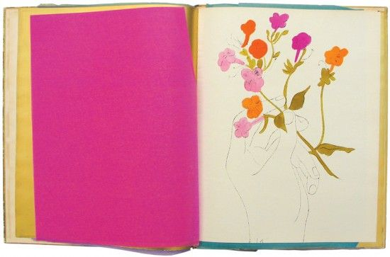 A Gold Book, Andy Warhol. 1957.