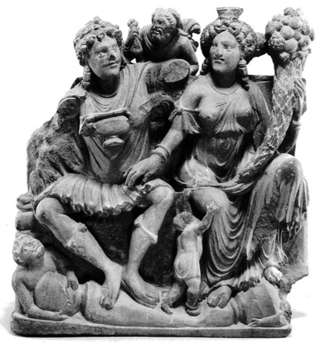 Buddha Matri Pancika & Hariti Pharro & Ardoxsho