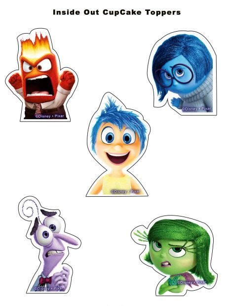 free inside out cupcake toppers