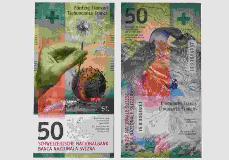 El mejor billete del mundo de 2016 es el de 50 francos suizos  #España #NellaBisuTej
