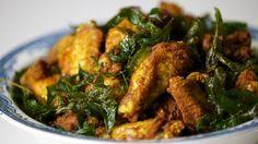 Receta   Pollo con curcuma (Kunyit fried chicken) - canalcocina.es