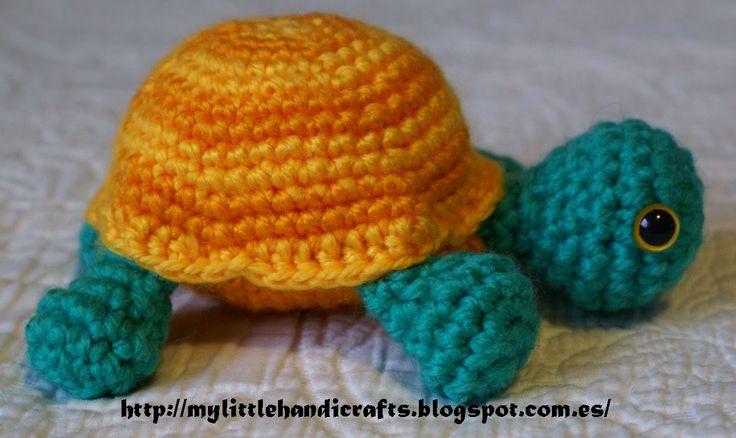 84 best tortugas amigurumis images on Pinterest   Tortugas, Patrones ...