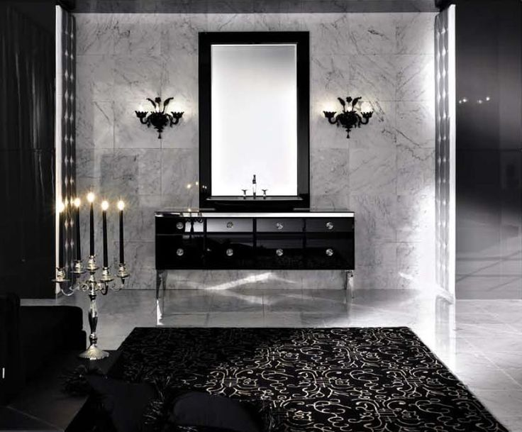 -stylish-black-bathroom-with-luxury-black-mirror-black-vanity-black ...