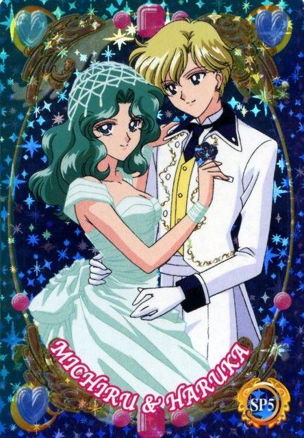 海王みちる Michiru Kaioh, 天王はるか Haruka Tenoh - Sailor Moon