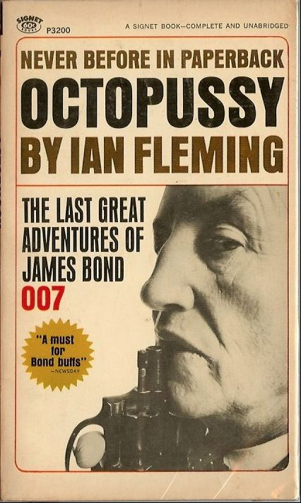 Classic James Bond Book Art
