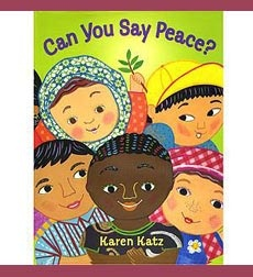"""This book takes children on a bright and colorful journey around the globe to meet some of these children and the many ways they say """"peace"""" introducing International Peace Day. A gorgeous story for preschool to early primary."""