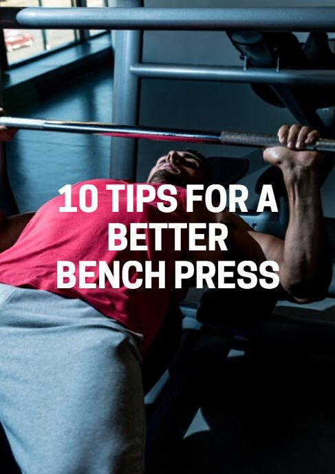 How much do you bench? It's a common question heard in gyms, as the bench press is one of most popular exercises. With its popularity, however, comes a variety of mistakes, many of which occur in an effort to improve results. If you're looking to improve your bench press, follow these guidelines: 10 Tips for a Better Bench Press - http://www.active.com/fitness/articles/10-tips-for-a-better-bench-press