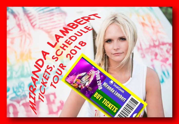 "Miranda Lambert will start the new year with a road trip, as her Livin' Like Hippies Tour kicks off January 18th in Greenville, South Carolina. Along the way, the tour will stop in 23 cities including Atlanta, Los Angeles, Phoenix, Cleveland, San Diego and Kansas City. Taking its name from the lyrics of her song ""Highway Vagabond,"" from the platinum-selling double LP The Weight of These Wings, the trek will also feature Jon Pardi on all of the dates. Miranda Lambert - Tour 2018 - Tickets…"
