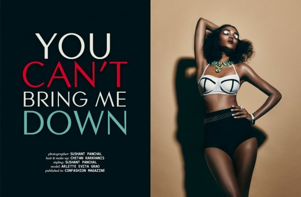 "Sushant Panchal: ""You can't bring me down"" http://www.confashionmag.pl/webitorial/you-can-t-bring-me-down.html"
