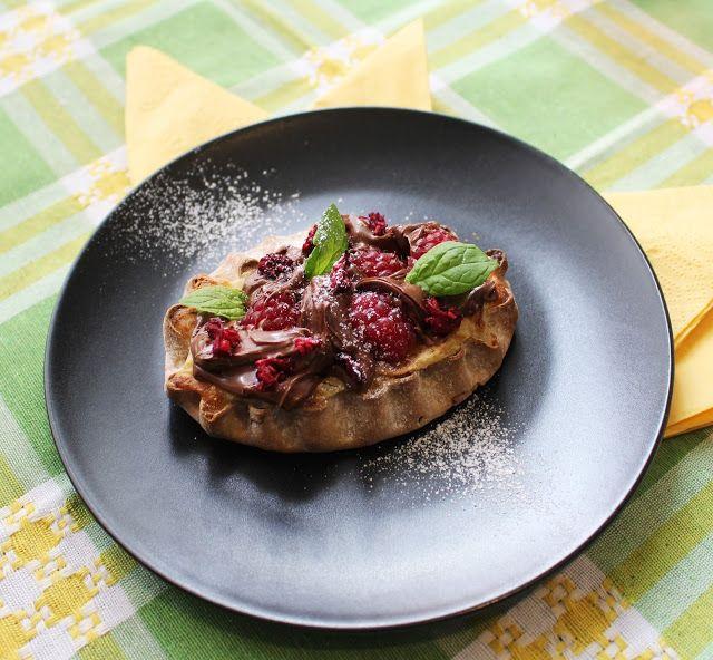Ugolinon Seikkailut: Vadelma-Nutella Riisipiirakat