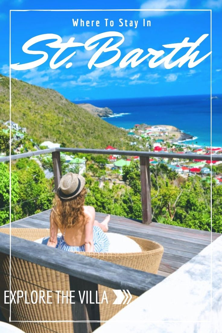 Where to Stay In St. Barth: Villa Culture. With only about 30 mini-hotels on the island, a true St. Barth experience involves renting one of the 2,500 lux villas with an infinity pool available on the island. Learn more about my tropical travel experience to the sun-kissed paradise island in the French West Indies on travel blog svadore.com.