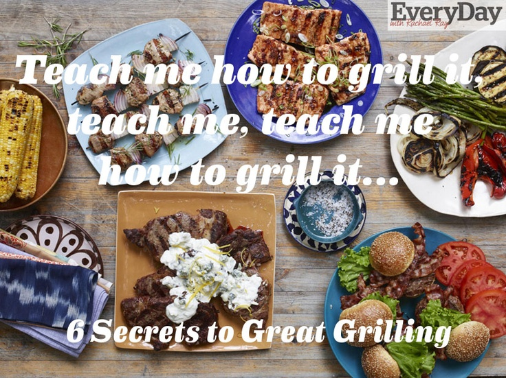 6 Secrets to Great Grilling | http://www.rachaelraymag.com/food-how-to/cooking-tips/grillsecrets/: Food Recipes, Food Stuff, Common Grilling, Food Gloriousfood, Secrets, Grilled Food, Food Tips Ideas, Cooking Tips, Foodie Fyi