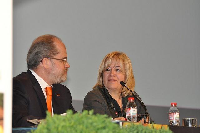 Fundación Triodos - Margarita Campos, presidenta de INTERECO, moderadora de la mesa redonda: Políticas agrarias y sostenibilidad