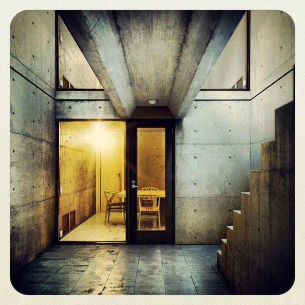 38 best Tadao Ando  Azuma House images on Pinterest  Tadao ando Architecture and Small houses