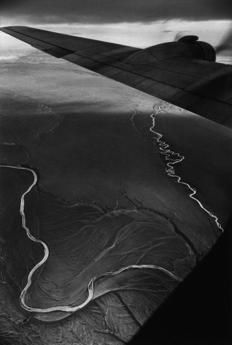 Magnum Photos- Sergio Larrain: Flying back to the North from the region of Magellan, CHile, 1963,  © Sergio Larrain/Magnum Photos