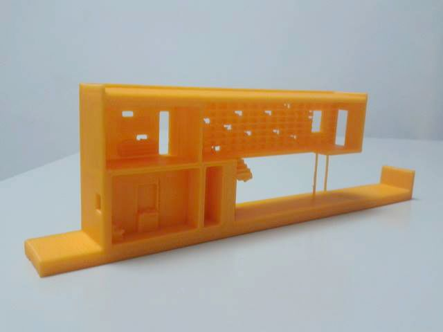 3D printed architecture with www.moebyus.com and http://www.bitaq.com/