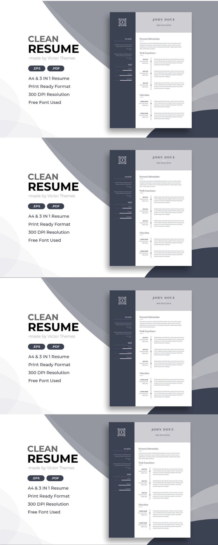 Web developer cv template cv template web developer cv