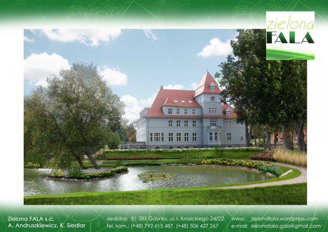 Pałac w Chynowiu – wizualizacje | zielona FALA