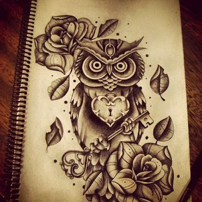 Cute owl tattoos may not be the most popular tattoo designs in the world, however the owl itself is very popular! Description from pinterest.com. I searched for this on bing.com/images