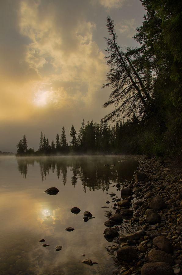 Time To Reflect by Sandra Parlow, via 500px;Riding Mountain National Park, Manitoba, Canada near Grandpas cabbin :)