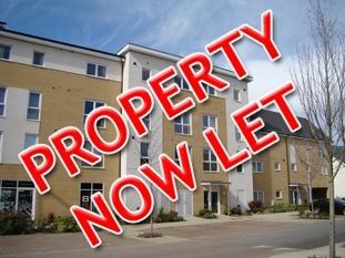 One bedroom apartment, Kennet Island, Reading.  Let within two days of advertising.
