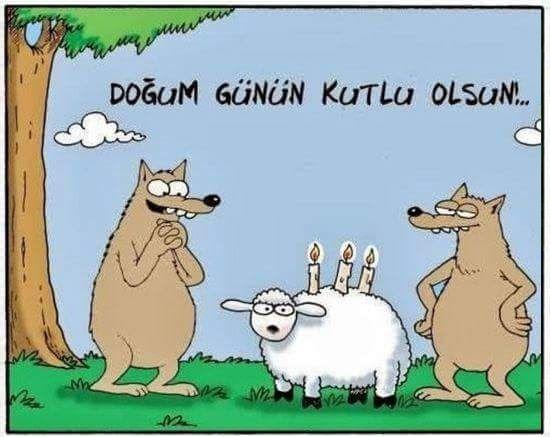 Doğum günün kutlu olsun!..  #karikatür #mizah #matrak #komik #espri #şaka #gırgır #komiksözler