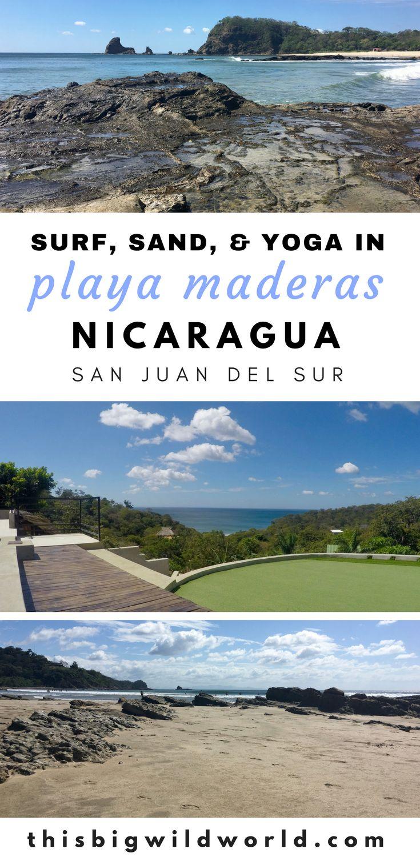 Find out why Playa Maderas Nicaragua should be on your Nicaragua itinerary. Playa Maderas is one of the north beaches of San Juan del Sur. #playamaderas | #sanjuandelsur | #nicaraguatravel | #thingstodonicaragua