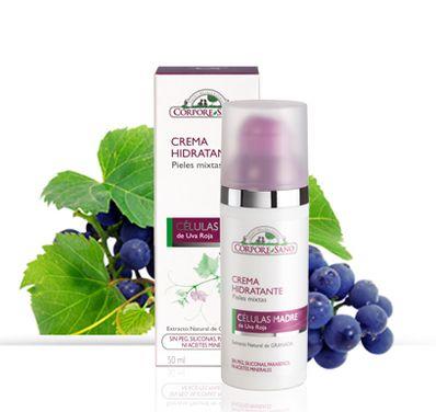 Crema Hidratante Células madres de Uva para Piel Mixta 50 ml