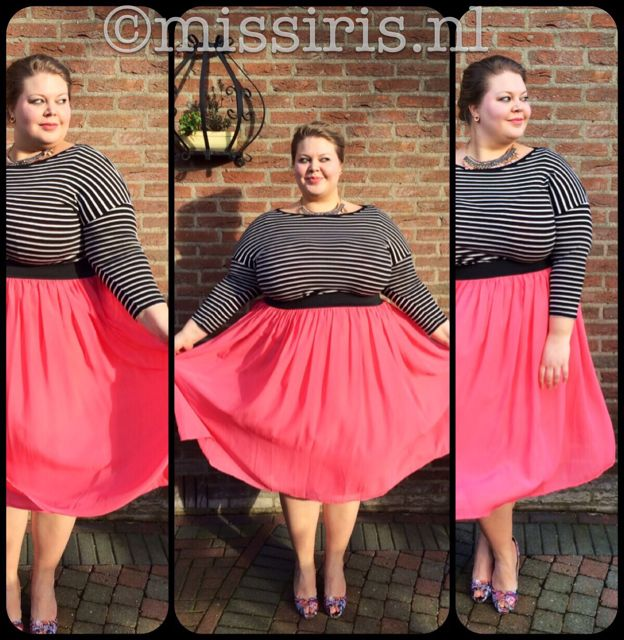 my stripes, my style - plus size - grote maten