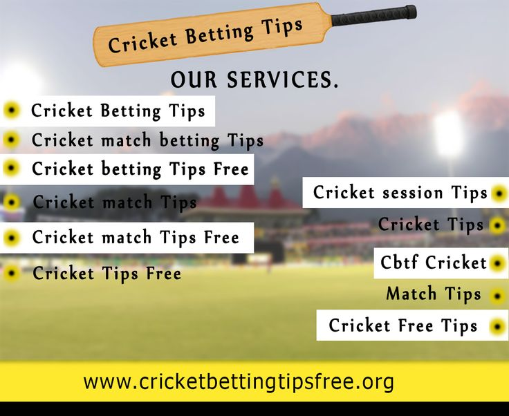 cricketbettingtipsfree.org is a platform where you can get a live update or live rates for cricket match betting tips, cricket tips and cricket match tips. We provide you all the updates in Hindi or English. Visit today: http://www.cricketbettingtipsfree.org/