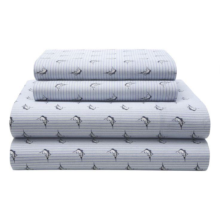 Marlin Stripe 180 Thread Count Sheet Set