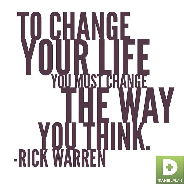 You Must Change The Way You