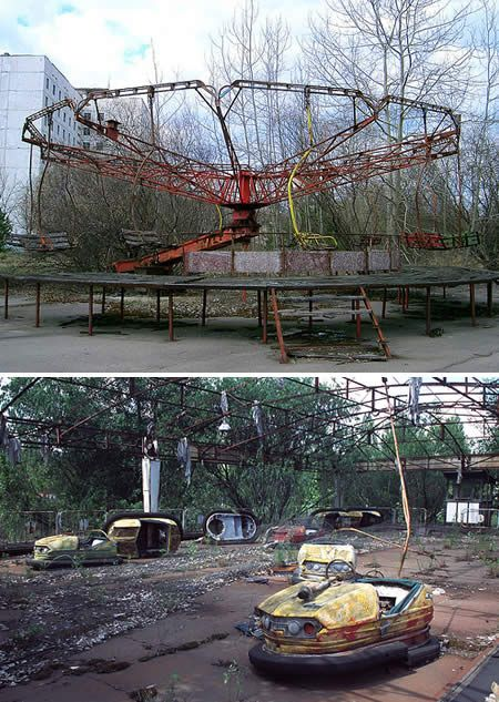 """10 Most Amazing Ghost Towns - Prypiat is an abandoned city in the """"zone of alienation"""" in northern Ukraine. It was home to the Chernobyl Nuclear Power Plant workers, abandoned in 1986 following the Chernobyl disaster. Its population had been around 50,000 prior to the accident."""
