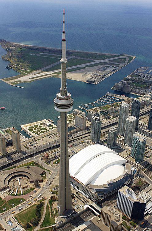 CN Tower, Toronto, Ontario, Canadá, 1973 — 1976 | José Miguel Hernández Hernández