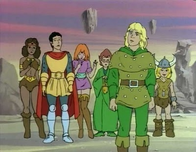 Dungeons and Dragons -- ahhhh Saturday morning cartoons ...