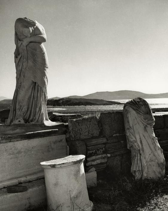 Cleopatra's house, Island of Delos, Cyclades, Greece, 1937. Photo by Herbert List