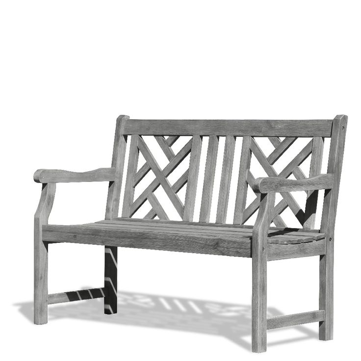 c5a67121c1d04b9d4bbc005156206f87 - Better Homes & Gardens Shaker Patio Bench With Gray Cushion