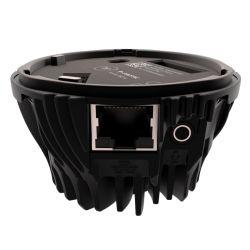 ジャイロプティック 360camによる360度ライブ・ストリーミング用ジャック入力付きPOE イーサネットベース - 正面図