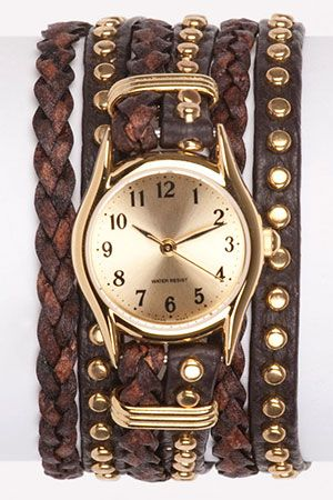 Love this!!Fashion, Watches Bracelets, Style, Wraps Watches Lov, Jewelry, Accessories, Chunky Watches, Arm Candies, Wrap Watches